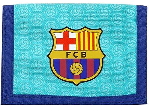Fc Barcelone Portefeuille club Messi Suarez Barça Article sous licence officielle