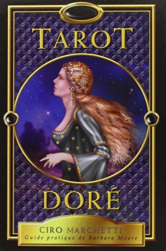 Tarot doré - Guide pratique (Livre + 78 cartes) par Barbara Moore