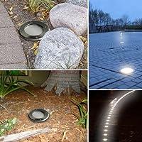 A energia solare, 3 LED, motivo metropolitana