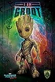 Marvel Comics Die wächter der Galaxy Vol. 2 'ich Bin Groot-Raum' Maxi Poster,61 x 91.5 cm