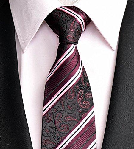 CNFIP Maschile Abito Paisley Tie / 1200