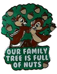 """Disney's """"Our Family Tree Is Full of Nuts"""" Chip and Dale Pin"""