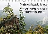 Nationalpark Harz Unberührte Natur und beschauliche Städte (Wandkalender 2017 DIN A4 quer): Der Nationalpark Harz ist das höchste Mittelgebirge im ... (Monatskalender, 14 Seiten ) (CALVENDO Orte)