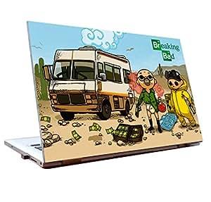 Tamatina Laptop skins 12 inch - Breaking Bad - Heisenberg - Fan Art - HD Quality - Dell-Lenovo-HP-Acer