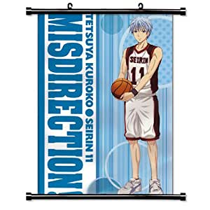 kuroko sans panier anime tissu poster 16 cm x 23 cm cuisine maison. Black Bedroom Furniture Sets. Home Design Ideas