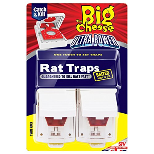 the-big-cheese-ultra-power-rat-traps-baited-ready-to-use-and-easy-to-set-twin-pack