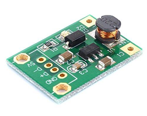 Demarkt DC-DC Step Up Power Module 1V-5V auf 5V ohne USB Kopf -