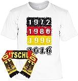 Fanartikel zur Fussball Europameisterschaft 2016 Fanshirt T-Shirt zur EM 2016