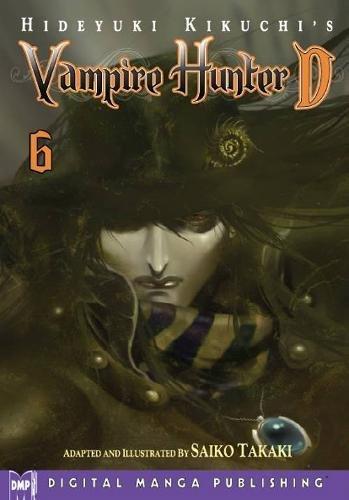 Hideyuki Kikuchi's Vampire Hunter D Manga Volume 6 por Hideyuki Kikuchi
