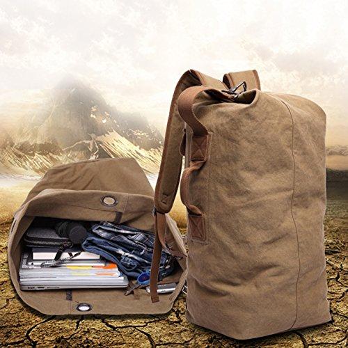THEE Rucksack Handtasche Duffel Gepäck Tasche für Reise Wandern Camping Kaffee