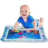 Pad gonfiabile gonfiabile per bambini - materasso gonfiabile per giochi d'acqua per neonati per bambini piccoli BPA senza perdite per neonati per neonati e bambini piccoli 26'x 20'