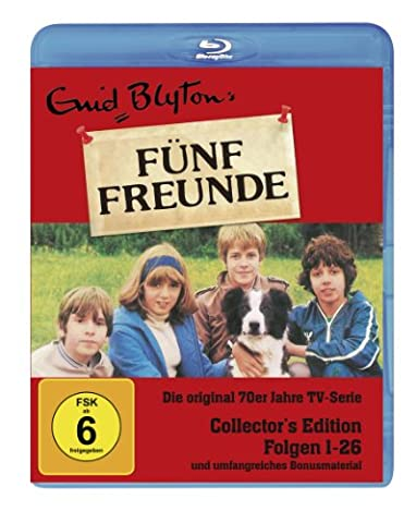 Enid Blyton - Fünf Freunde Box, Folgen 01-26 (Collector's Edition) (3 Blu-rays, 1 DVD)