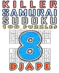 Killer Samurai Sudoku (Volume 8) by Djape (2015-11-11)