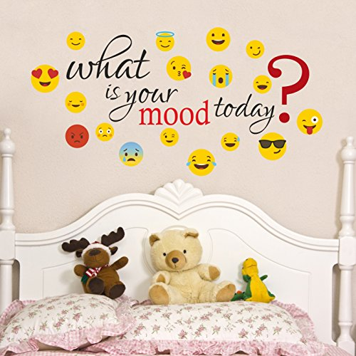 Decor-Kafe-What-is-Your-Mood-Today-Smiley-Wall-Sticker-Standard-Size-93cm-X-48cm-Color-Multicolor