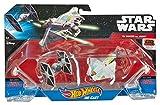 Hot Wheels - Surtido de Naves Star Wars Blister Doble (Mattel CGW90)