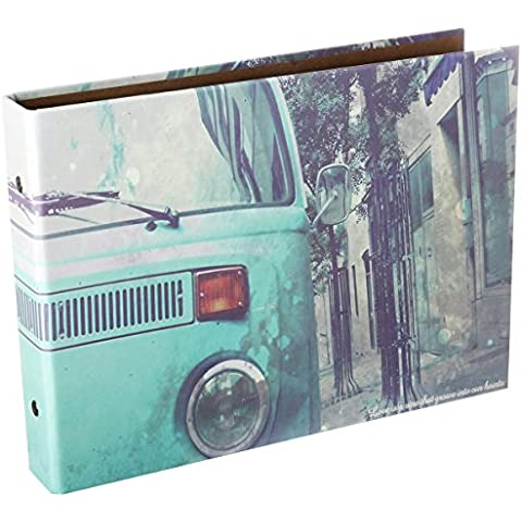 [Fujifilm Instax Mini Foto Album] - CAIUL 50 Pagine DIY Album per Mini 8 70 7s 25 50s 90/ Pringo 231/ Instax SP-1/ Polaroid PIC-300P/ Polaroid Z2300 Film (Auto) - Snap Pagina Protezioni