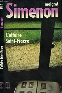 """Afficher """"L'Affaire Saint-Fiacre"""""""