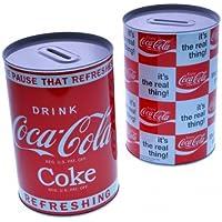 Preisvergleich für Coca-Cola Retro Spardose aus Metall