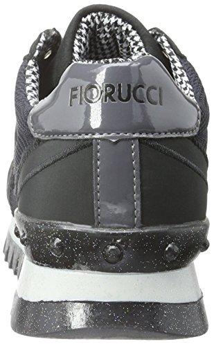 Fiorucci Damen Fdaa004 Sneakers Schwarz (Nero)