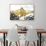 RTCKF Modern Minimalist Living Room Decorative Painting Hotel Clubhouse Hotel Abstract Simple Frame Painting Without Frame B1 30cmx40cm