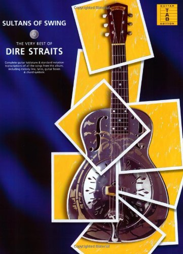 Dire Straits Sultans Of Swing The Very Best Of (TAB): Songbook, Grifftabelle für Gitarre