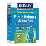 Bioglan Biotic Balance Ultimate Flora 20 billion CFU, live Bacteria, Probiotic, suitable for Vegetarians, with Lactobacillus Acidophilus, Lactobacillus Rhamnosus, Bifidobacterium Longum. - 30 Capsules by PharmaCare Europe Ltd