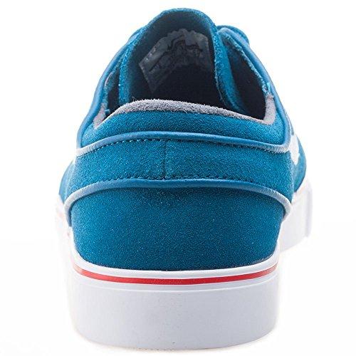Nike Zoom Stefan Janoski, Chaussures de Skate Homme, Taglia Unica Vert - Verde (Grn Abyss / White-Unvrsty Rd-Blk)