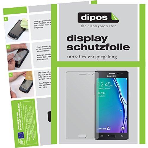 dipos I 6X Schutzfolie matt passend für Samsung Z3 Folie Bildschirmschutzfolie