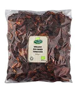 BIO-Sun Getrocknete Tomaten 500g von Hatton Hill Organic - Zertifiziert Bio