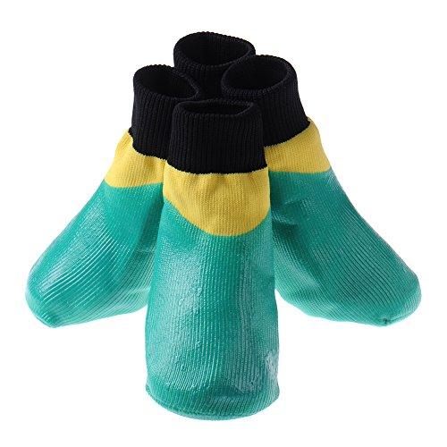 Iglu-schuh (Outdoor-Sportarten saterproof Anti-Rutsch-Socken dirty dog ??- Grün, Größe M)