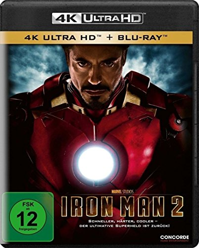Iron Man 2 - Ultra HD Blu-ray [4k + Blu-ray Disc]
