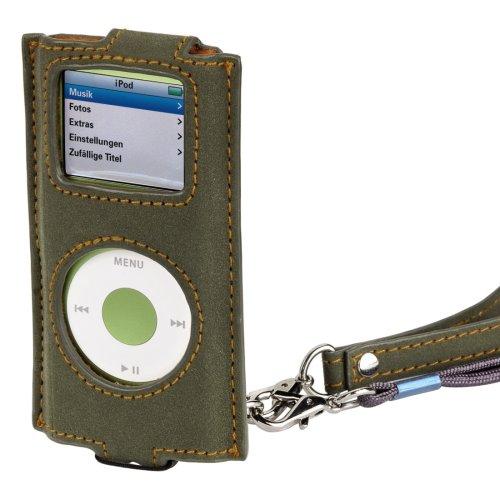 Hama Nubuk Case für Apple iPod Nano/Nano 2. Generation grün