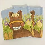 20 Papierservietten * SÜSSES PONY * für Kindergeburtstag oder Mottoparty // Servietten Napkins Pferd Horse