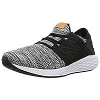 New Balance CRUZK Running Shoes For Men 42 EU,White & Black (654531-60;3)