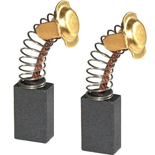 Preisvergleich Produktbild Kohlebürsten für HITACHI Bohrhammer / Meißelhammer / Gehrungssäge / Handhobel / Winkelschleifer / Bandschleifer / 7 x 11 x 17 mm 999-043 / 999-025