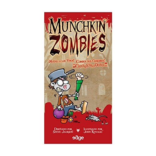 Munchkin Zombies - Juego de Mesa (Edge Entertainment EDGMZ01)