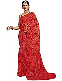 Sarees (Diwali Special Offers Women's Clothing Saree For Women Latest Design Wear Sarees New Collection In Red...