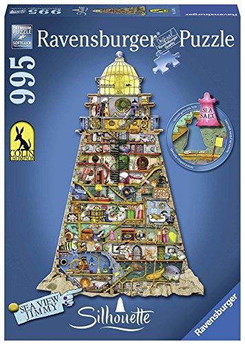 Ravensburger Colin Thompson Leuchtturm Puzzle, 955 Stück