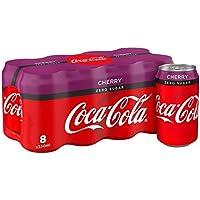Coca-Cola Zero cereza 8 x 330ml