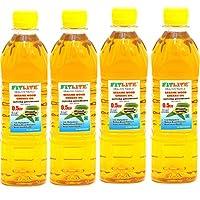 FITLITE Mini Pack of 4 Healthy Sesame Oil 0.5 LTR