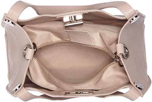 Bags4Less Damen Gloria Schultertasche, 11 x 27 x 31 cm Pink (Nude)