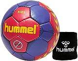 Hummel Kinder Handball Kids 91792  Größe 00/0/1 im Set mit Schweißband Old School Small Wristband 99015