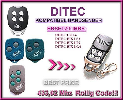 Ditec kompatibel handsender / ersatz TR-364