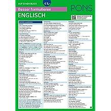PONS Besser formulieren auf einen Blick Englisch (PONS Auf einen Blick)