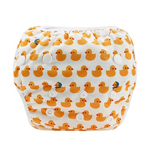 Baby Badewindelhose Schwimmwindel,COLORFUL Nette Muster Bademode Badehose Shorts für Neugeborene Kleinkind Baby Jungen Mädchen 16 Farben(0-24 Monate) (J)