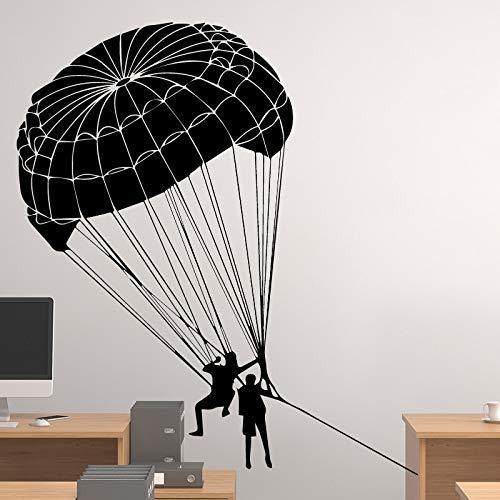 zxddzl Heißluftballon Wandaufkleber Moderne Mode Wandaufkleber Dekoration Zubehör für Wohnzimmer Hintergrund Wandkunst Aufklebercm 61x55cm