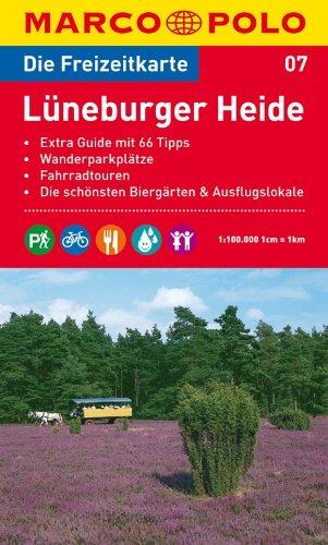 Preisvergleich Produktbild MARCO POLO Freizeitkarte Lüneburger Heide 1:100.000