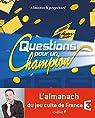 Almanach perpétuel Questions pour un champion par Masson