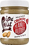Pip & Nut Crunchy Peanut Butter – 225g, Pack of 6 - Absolutely No Palm Oil – No Added Sugar – Always High-Oleic Peanuts - Natural Source of Protein and Healthy Fats