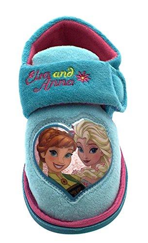 Disney ,  Mädchen Durchgängies Plateau Sandalen mit Keilabsatz Blue - Frozen Fever